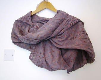 Liberty print romantic scarf