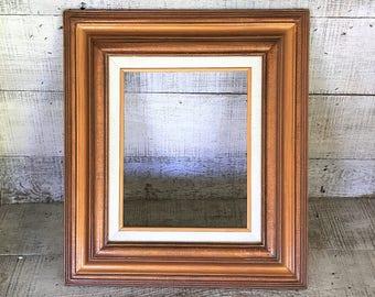 frame picture frame wood frame wooden frame gilded frame empty frame cooper frame linen and wood - Wood Frame Wall