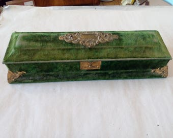 old jewelry box around 1900 35 x 10cm in good used condition