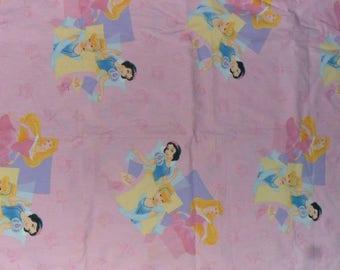 Three Disney Princesses Cotton fabruc