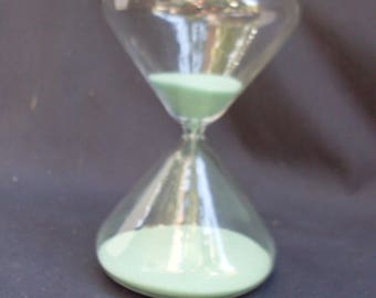 clessidra di vetro, glass transparent clepsydra, sanduhr, Песочные часы, hourglass, 砂 時 計, blown glass transparent mark the passage of time