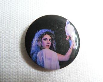 Vintage 80s Stevie Nicks - Bella Donna Album (1981) - Pin / Button / Badge