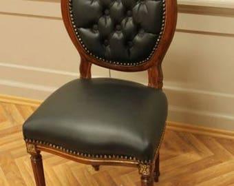 Baroque Chair Rococo antique style MoCh0067HzSkSw