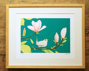 Magnolia & wren limited edition A3 print