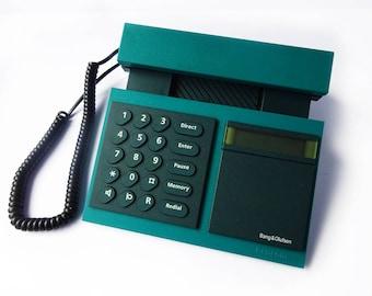 designer home phones. BANG  OLUFSEN Beocom 2000 Telephone Green Blue Phone Corded Analog Designer Home Office Decor Modern Red