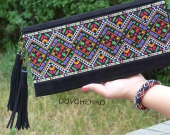 cross stitch bag, embroidery bag /ukrainian embroidery /leather embroidered bag/Embroidered Bag /ethnic bags/Ukranian embroidery