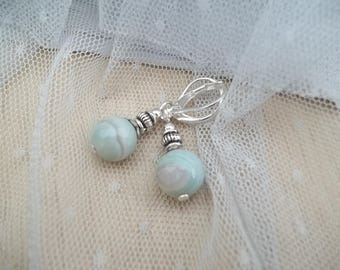 PE37 - earrings - pearls of Oléron Collection-