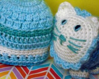 Fluffalump Friend & Baby Hat Set
