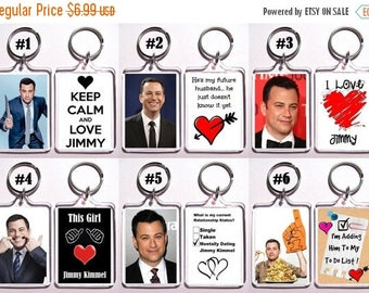 ON SALE NOW Jimmy Kimmel Keychain Key Ring - Many Designs To Choose From