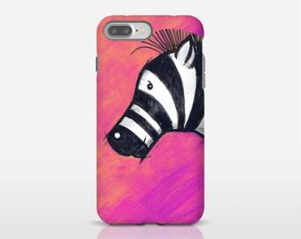 Animal Lover Gift, Zebra Phone Case, Pink Phone Cover, Cool Phone Cases, Apple iPhone Cases, Phone Accessories, Best Phone Cases