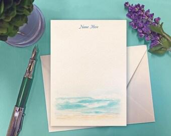 Landis Custom Correspondence Cards - Beach
