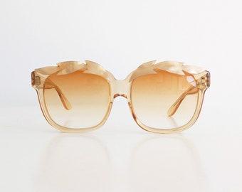 Rare Vintage 80s EMMANUELLE KHANH EK Sunglasses Made in France