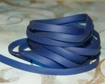 Blue plastic burna headband Navy 50 cm