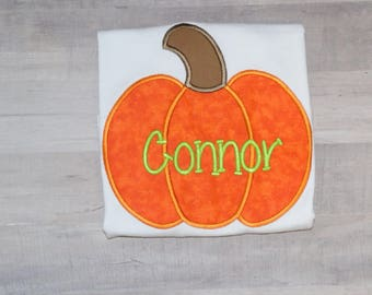 Boys pumpkin shirt/pumpkin patch shirt