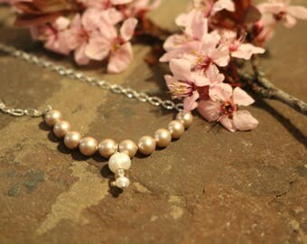 Pearl Wedding, Birthday, Prom, Necklace