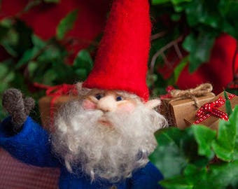 Needle Felt a Fibre Art Elf.