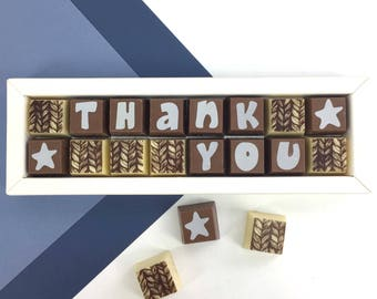 THANK YOU box of chocolates - thank you teacher - gift for teacher - gift to say thank you - chocolate thank you gift - teacher gift