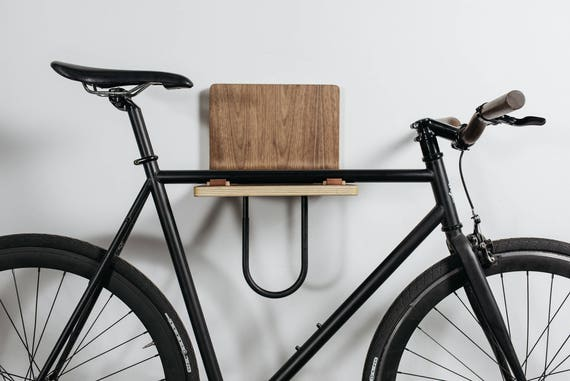 wall mounted bike rack. Black Bedroom Furniture Sets. Home Design Ideas