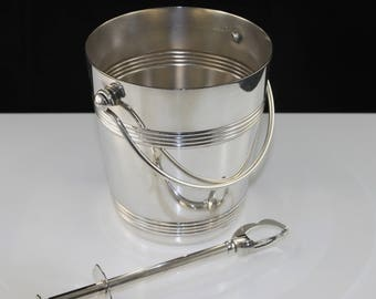 Ice bucket Gallia Silversmith O.C. (orfefrerie Christofle)