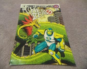 1993  Greatest World Hero Zero  # 1 comic book/ Dark Horse Comics