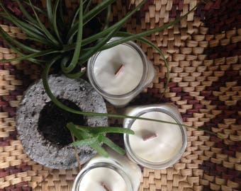 Black Moss Soy Candles