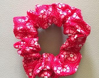 Red Scarlet Scrunchie