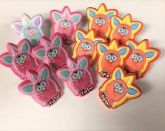 FURBY Cupcake Rings