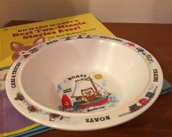 Richard scarry's cereal bowl