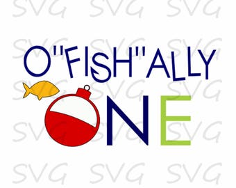 """O""""fish""""ally One svg, dxf, fcm, eps, and png.  Ofishally One SVG, Ofishally SVG."""