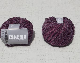 Artful Yarns, Cinema Ribbon Yarn, Destash Yarn