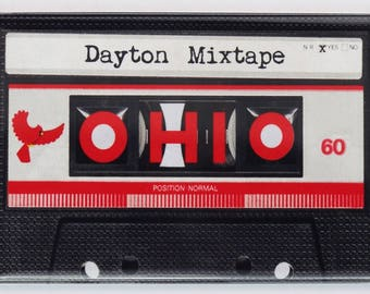 Dayton Ohio Cassette Mix Tape FRIDGE MAGNET UD Gem City