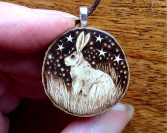 Hazelwood Hare Pendant