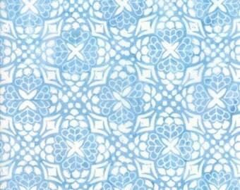 Moda LONGITUDE BATIKS by Kate Spain-sky blue (27259 153)-by the YARD