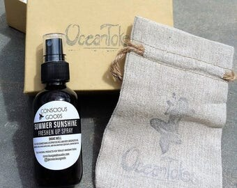 Summer Sunshine Freshen Up All Natural Face and Body Spray by Conscious Goods