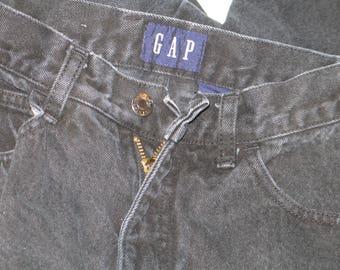 GAP Washed Black Denim Jeans, size 7/8
