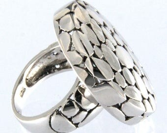 Art Deco Sterling Silver Ring