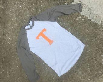 University of Tennessee raglan tshirt