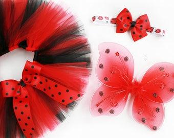 Baby Ladybug Costume - Toddler Ladybug Costume - Ladybug Halloween Costume - Ladybug Tutu - Ladybug Outfit