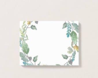 Bohem Green Wreath Post-it Notes