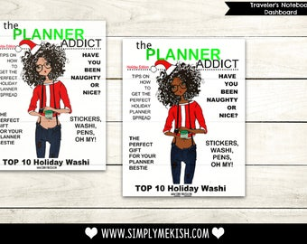 The Planner Addict Holiday Edition Dash Board