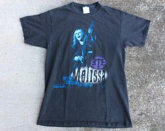 Vintage Melissa Etheridge Speak True 1994 shirt LARGE soft faded out thin