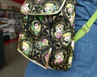 Custom Made to Order Purse, Original Design, Pockets, Cute, Secure Bag, Backpack purse, nerdy, fun