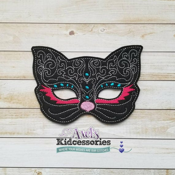 Glitter Felt Cat Costume Mask