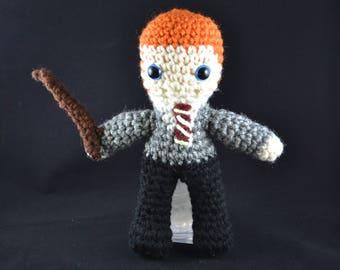 Ron Weasley Amigurumi Doll