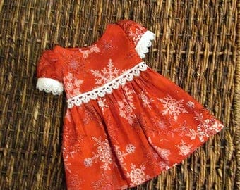 """Holiday Dress for American Girl Doll or 18"""" Doll."""