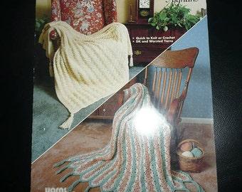Timeless Afghans Volume 921 Pattern Leaflet