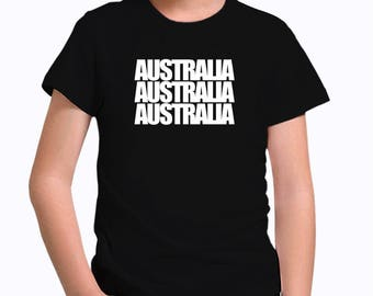 Australia three words Children T-Shirt