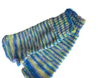 Fingerless Mitts - Handdyed Fingerless Mitts - Hand Knit Fingerless Mitts - Driving Gloves - Texting Gloves - Arm Warmers