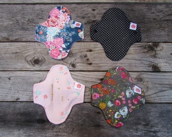 TWO mama cloth pads Pantyliner
