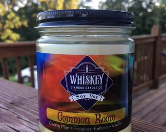 Common Room, Soy Candle, Vanilla Candle, Home Decor, Bookish Candle